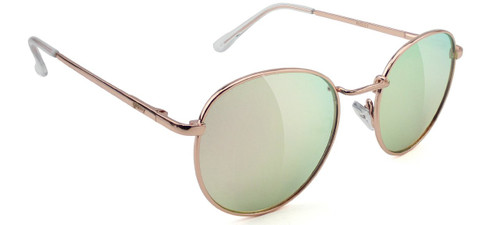 Glassy Ridley Rose Gold Pink Mirror Sunglasses