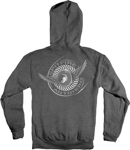 Spitfire x Antihero Skateboards Classic Eagle Sweatshirt (Gunmetal)