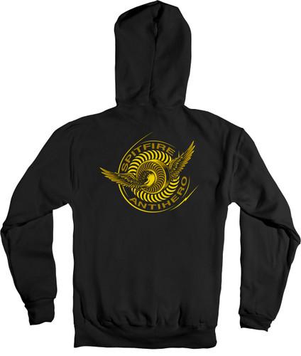 Spitfire x Antihero Skateboards Classic Eagle Sweatshirt (Black)