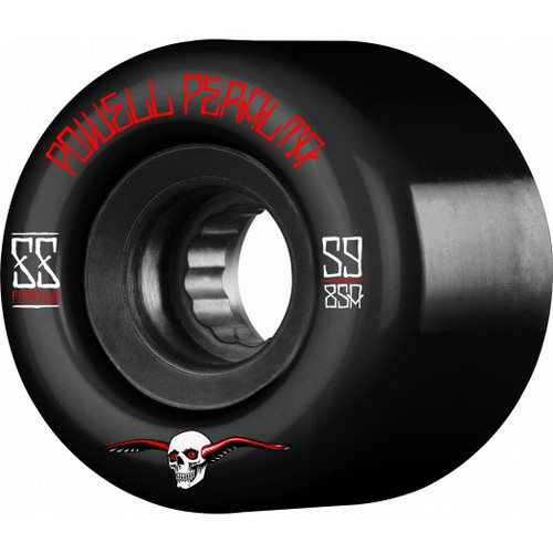 Powell Peralta G-Slides 59mm 85a Black Wheels 4 pk