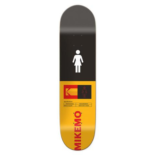 "Girl Kodak Mike Mo Skateboard Deck 8.125"" x 31.625"""