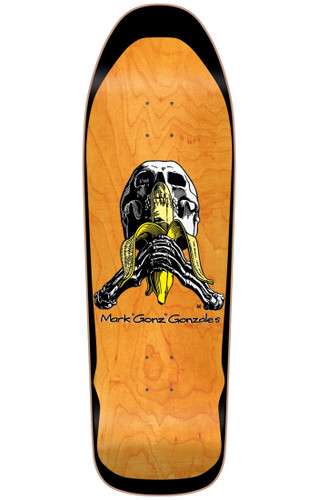 """Blind Mark """"Gonz"""" Gonzales Skull & Banana Re-Issue Deck SCREENED"""