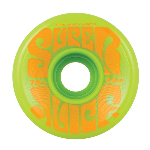 OJ Super Juice 60mm/78a Green (Set of 4)