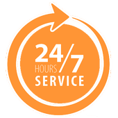 24-7-365 service