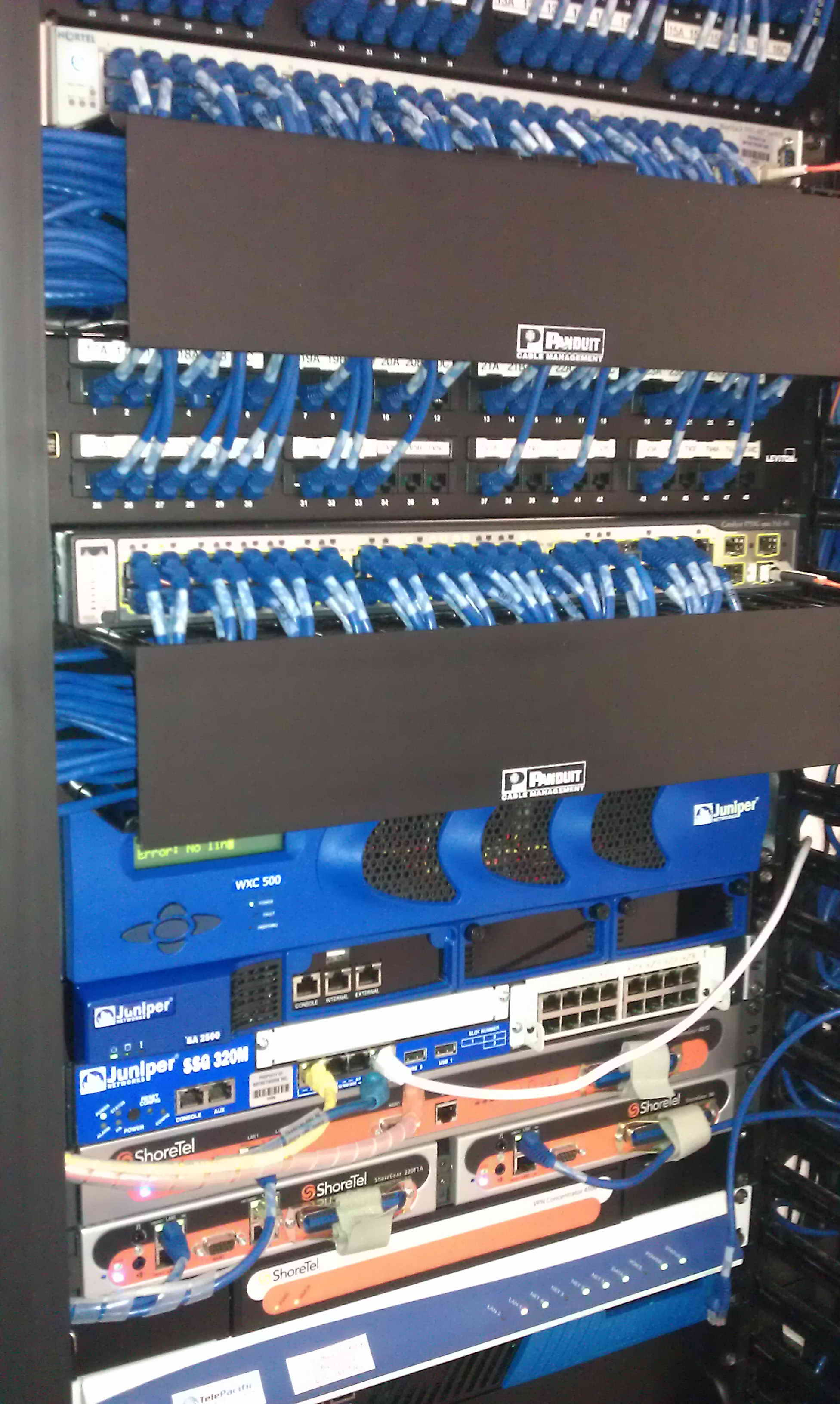 Marseille networks cabling
