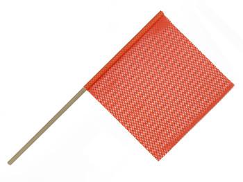 Orange Dowel Flag