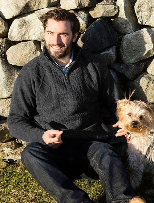 Fisherman Sweater Irish Sweaters Aran Sweaters By Glenaran