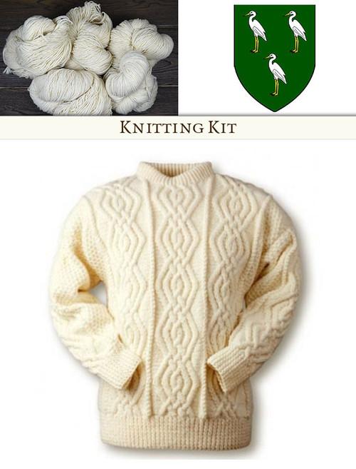 Clan Knitting Patterns And Kits Aran Sweater Patterns Glenaran