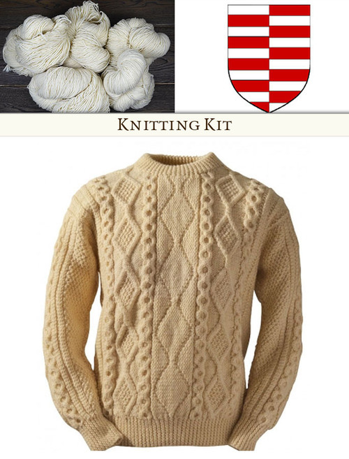 Clan Knitting Patterns And Kits Aran Sweater Patterns Glenaran