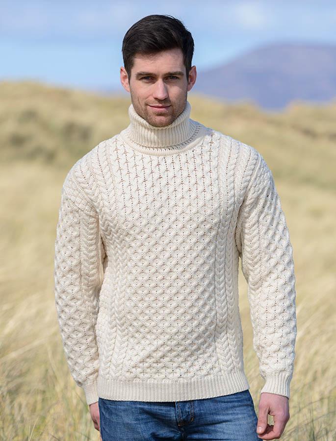 Wool Turtleneck Sweater Men Wool Turtleneck Sweater Men