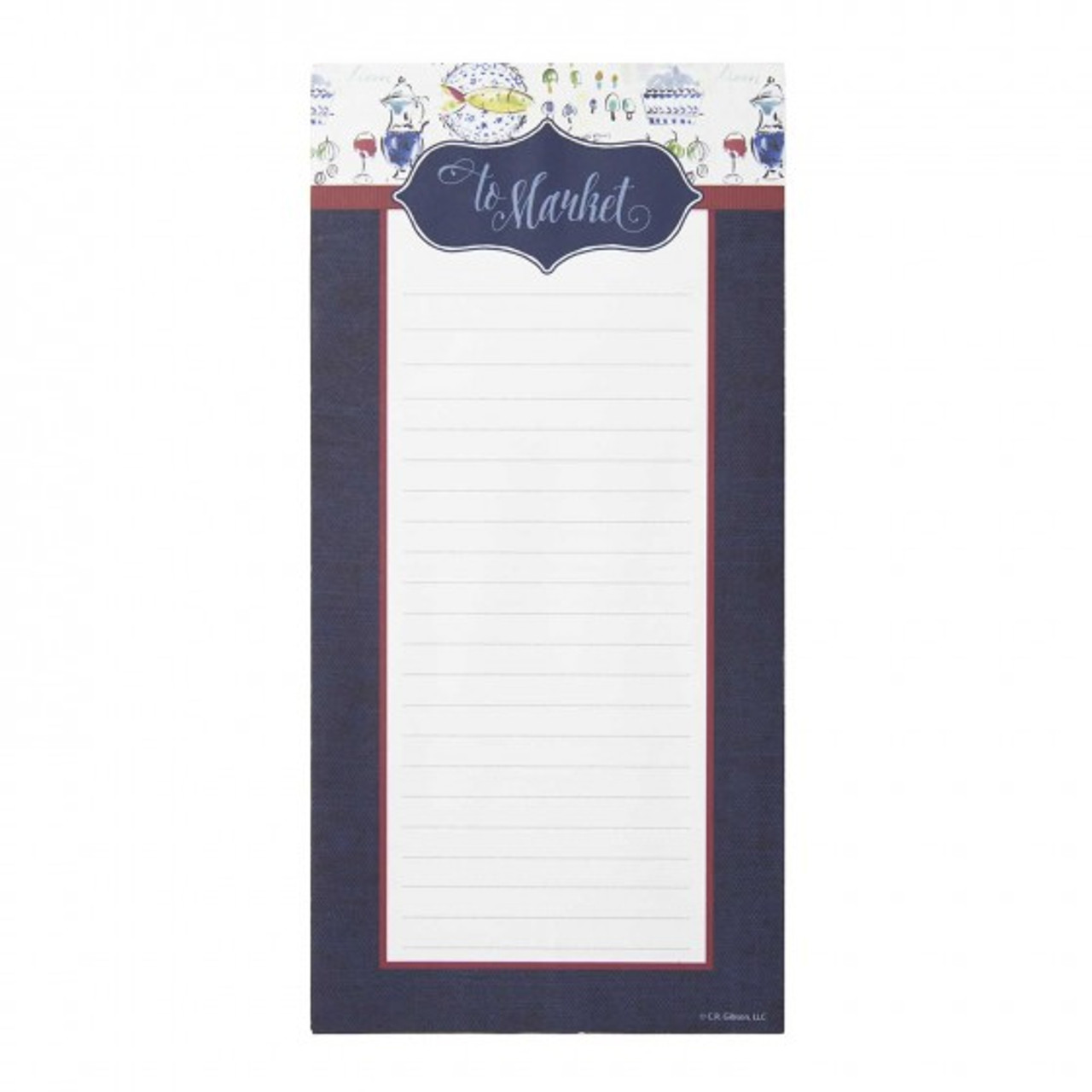 Provence Magnetic List Pad Mcclard S Gifts