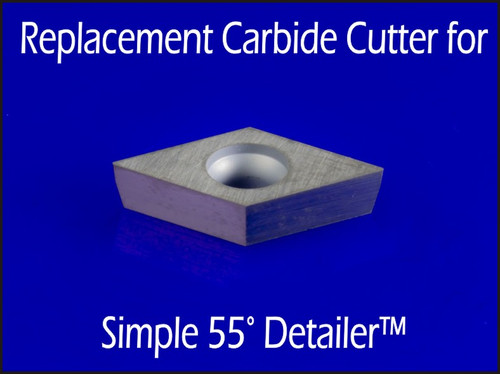 Cutter for S55D or MS55D - Replacement for Full and Mid Size Simple 55° Detailer