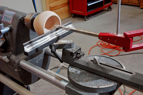 Simple Hollowing System for Shopsmith - Laser Guided Precise Woodturning