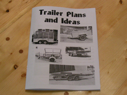 Trailer plans and idea book.