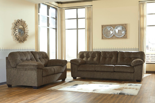 The Larkinhurst Earth Loveseat Available At Bitney S Furniture And