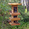 Natural Cedar Pagoda Bird Feeder