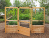 Deer Proof Cedar Complete Raised Garden Bed Kit - 8' x 8' x 20""
