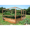 """Deer Proof Cedar Complete Raised Garden Bed Kit - 8' x 12' x 20"""""""