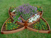 Versailles Sunburst Raised Garden Bed