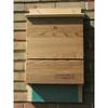 Single Chamber Wooden Bat House
