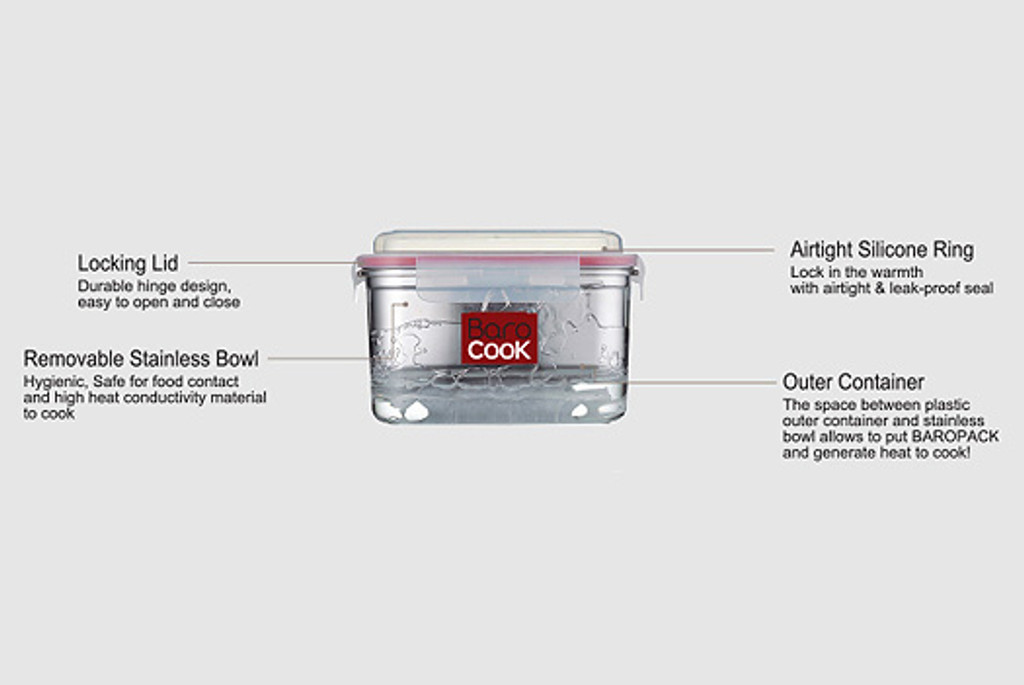 Barocook flameless cooking system 40 oz.