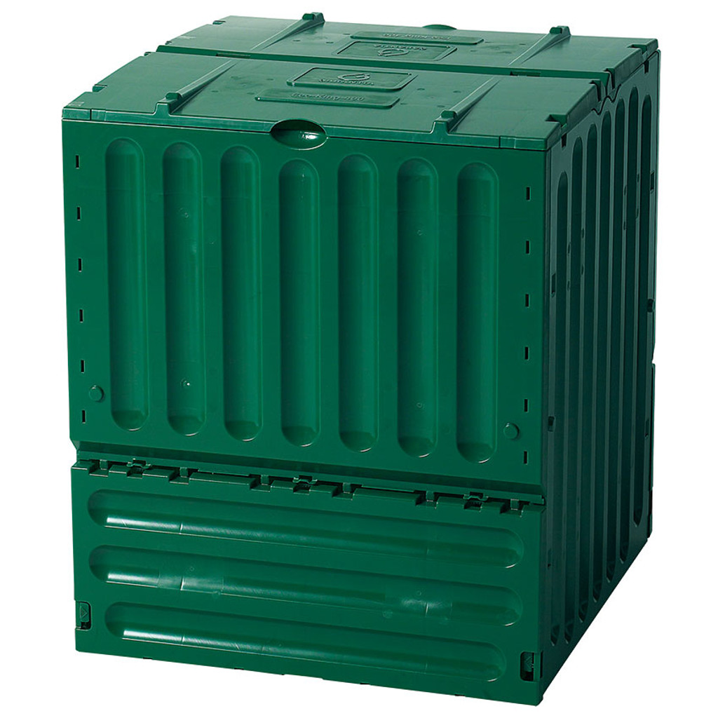 eco king recycled plastic compost bin 110 gallons eartheasy com