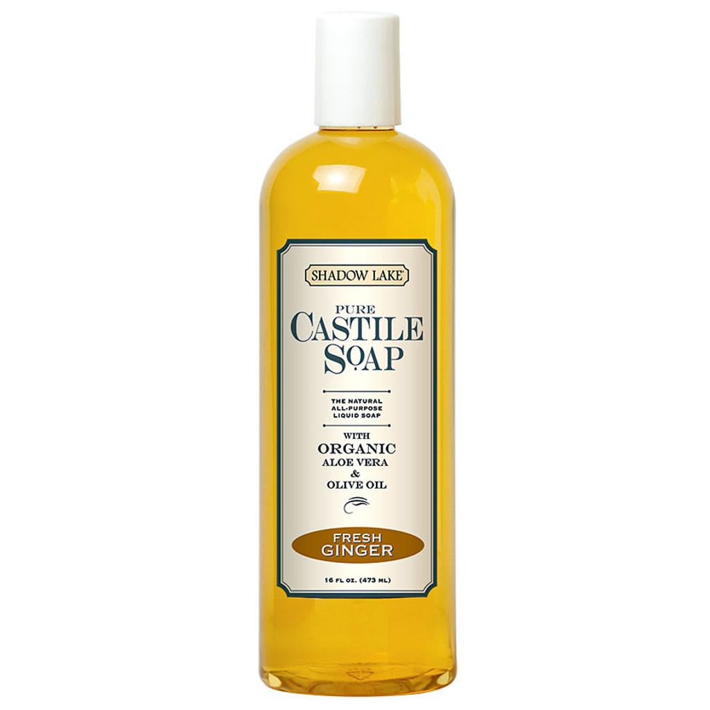 Fresh Ginger Castile Soap
