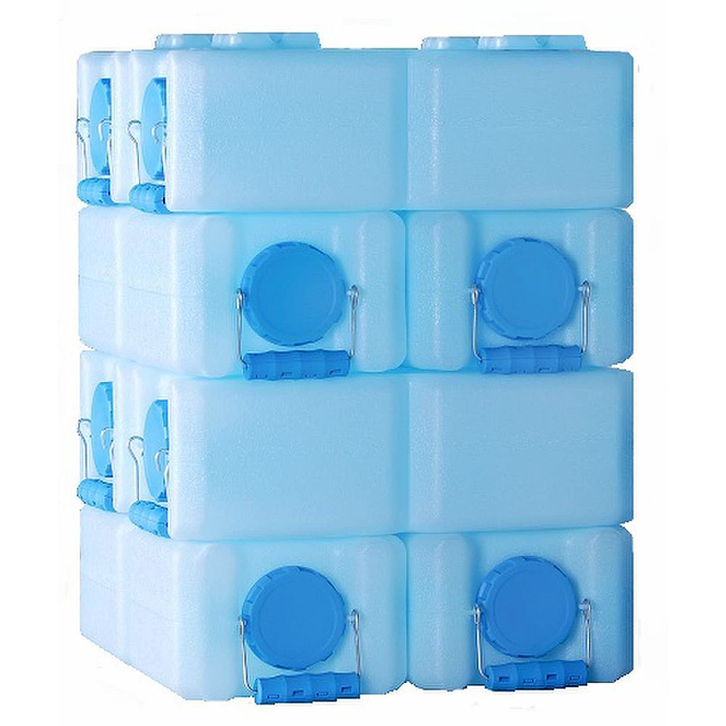 WaterBrick 3.5 Gallon Stackable Water Containers