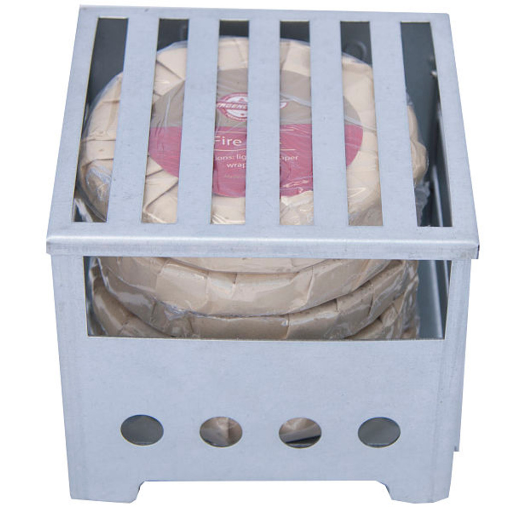 Box Stove With 5 Fire Discs