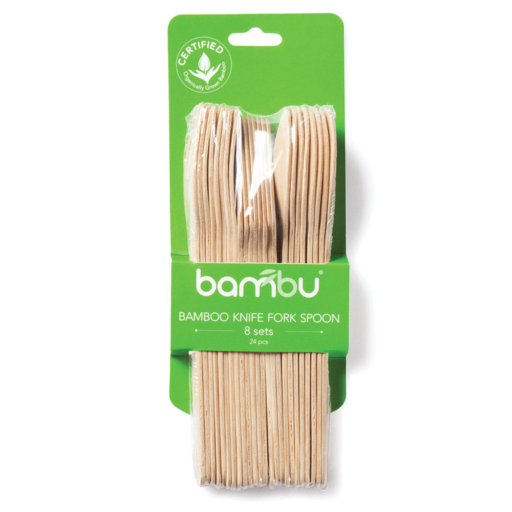 Biodegradable Bamboo Utensils