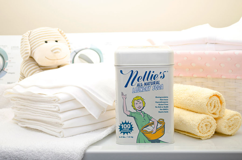 Nellie's All-Natural Laundry Soda - 100 Loads