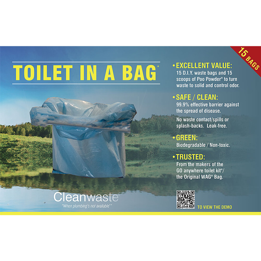 Toilet In A Bag - 15 Pack | Eartheasy.com