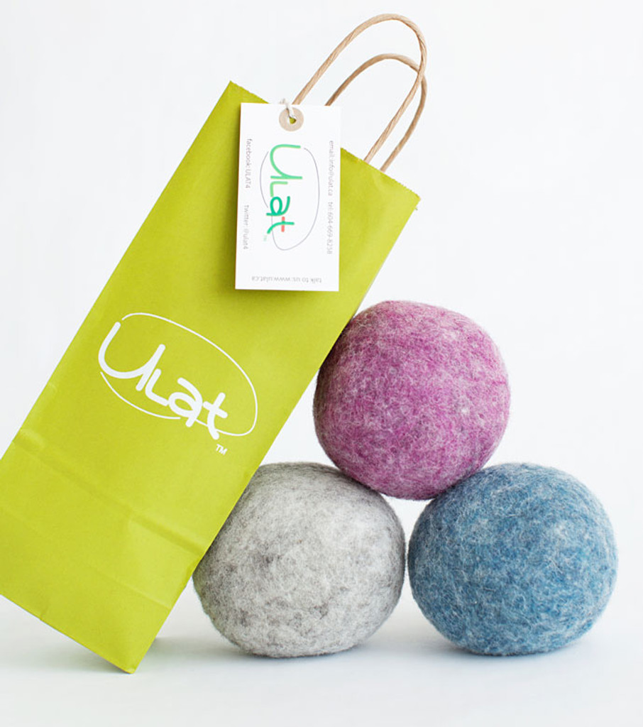 Wool Dryer Balls - Color Set