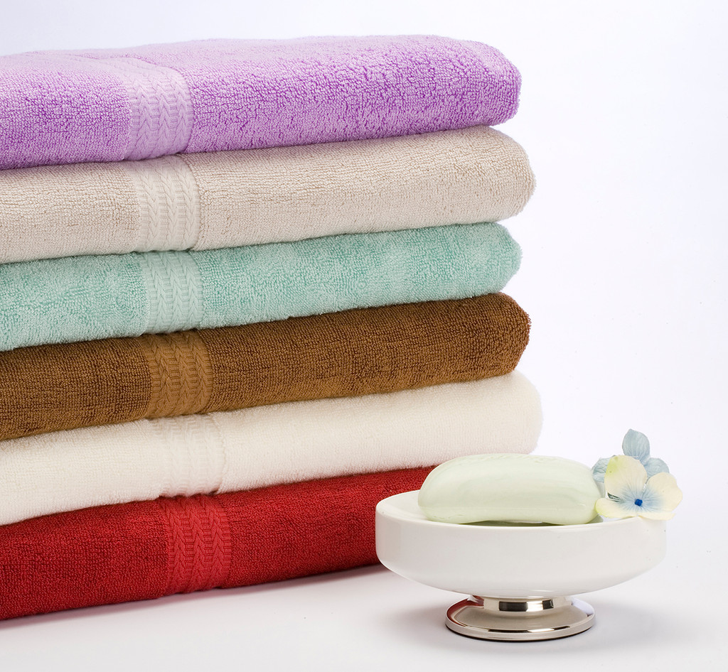 Bamboo Bath Towel Set - 600g