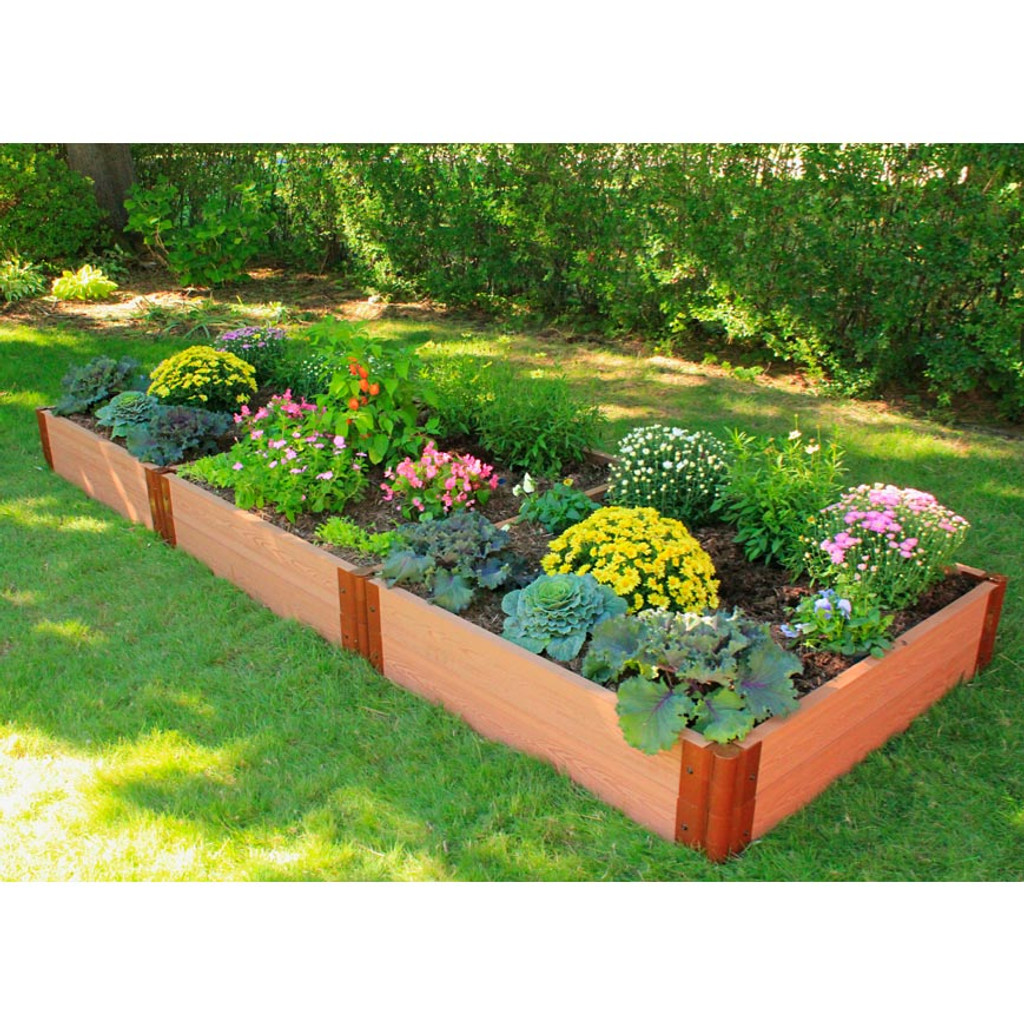 Gardening Beds: Composite Raised Garden Bed 4' X 12' X 12""