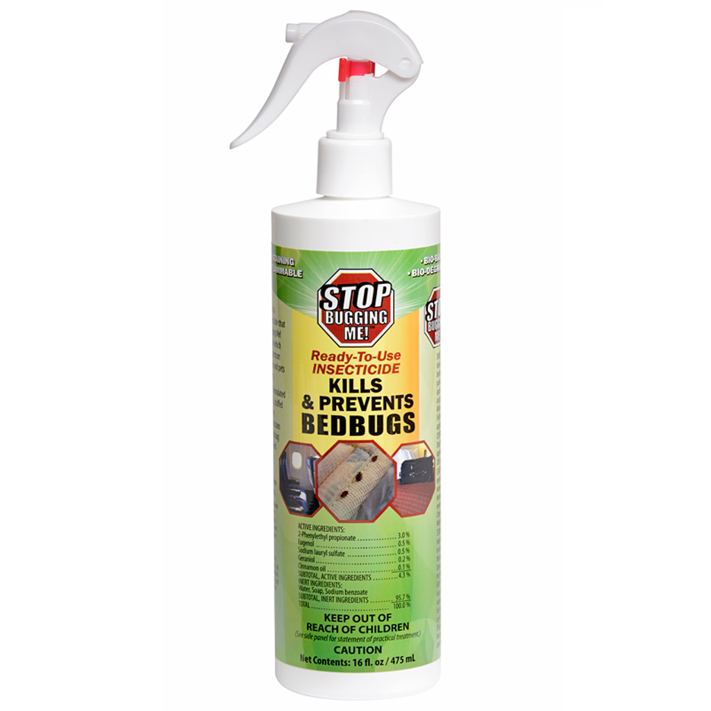 Stop Bugging Me! Bed Bug Spray