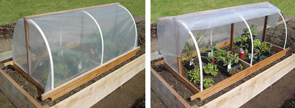 DIY: Portable Garden Cloche Plans