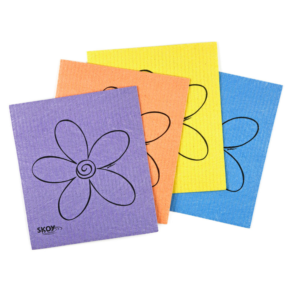 Skoy Eco Cleaning Cloth 4-Pack