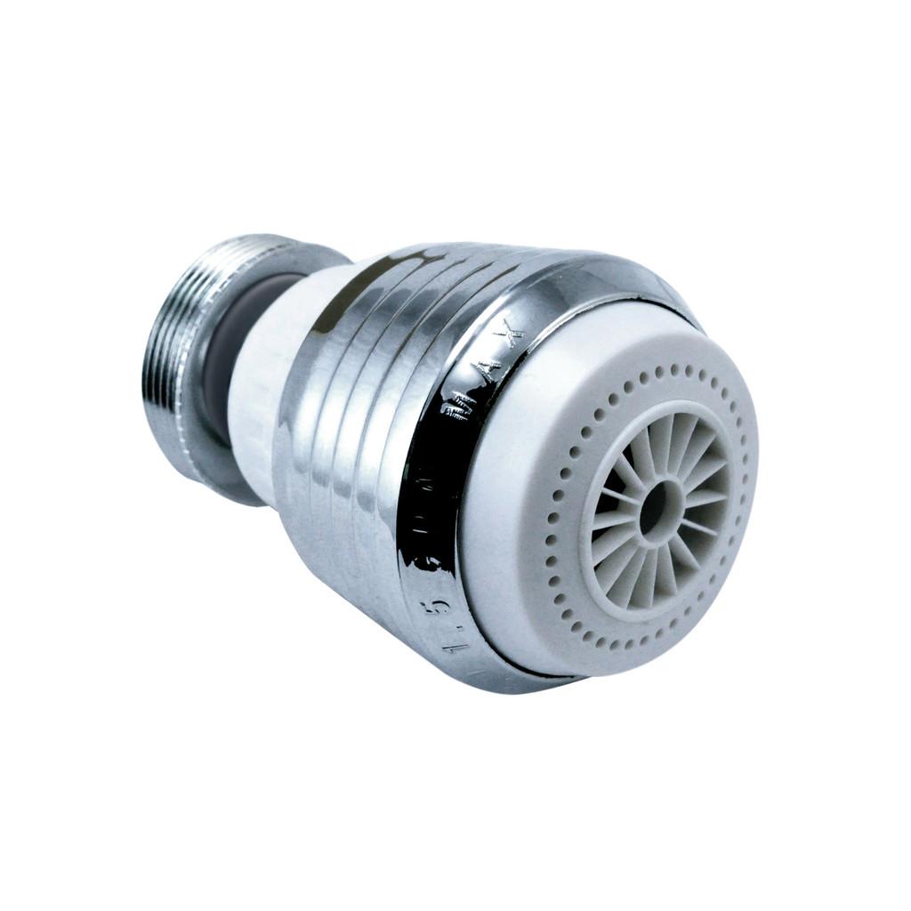 Dual Setting Swivel Faucet Aerator   1.5 GPM
