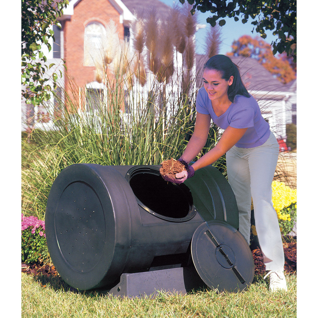 EZ Compost Wizard 12 Cubic Foot Compost Tumbler
