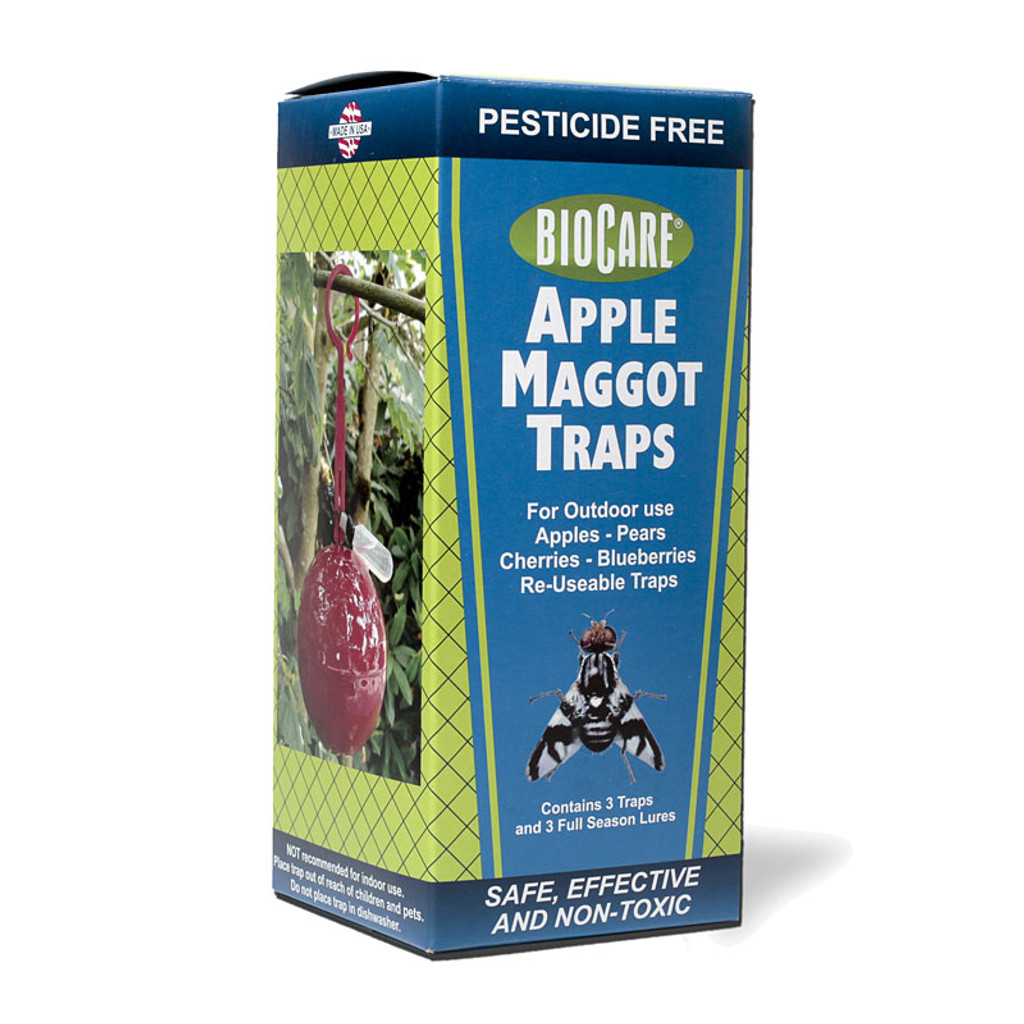 Non-Toxic Apple Maggot Traps