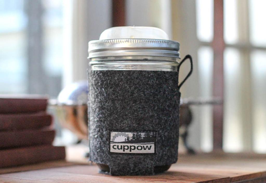 Cuppow Glass Travel Mug