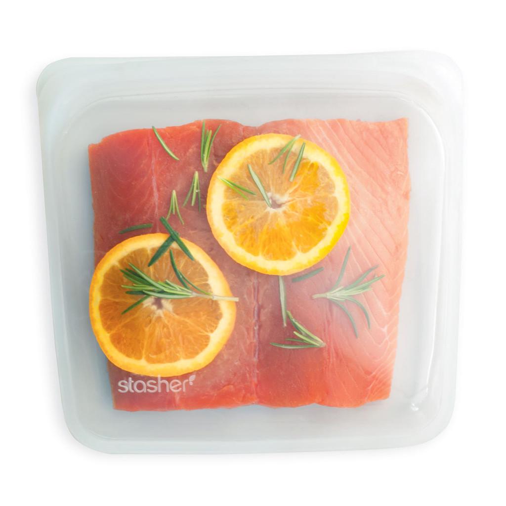 Clear - Stasher Sandwich Bag