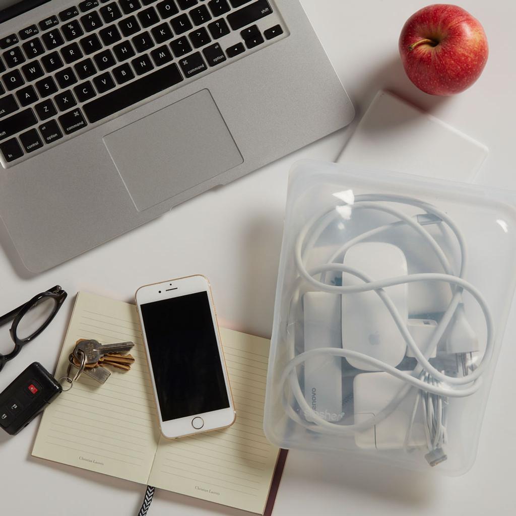 Stasher Reusable Half-Gallon Bag