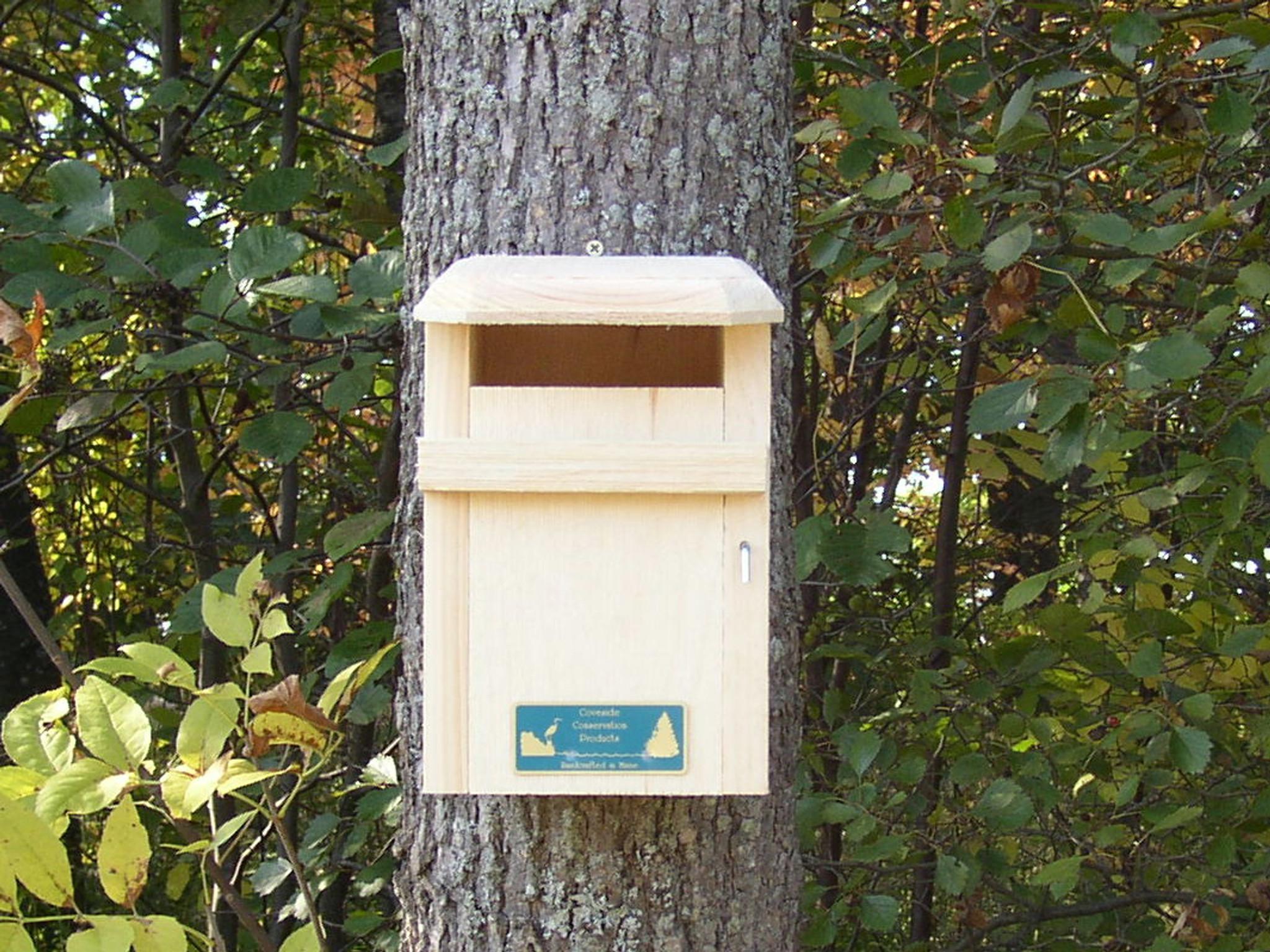 Inspiring sparrow resistant bluebird house plans ideas for Sparrow birdhouse plans