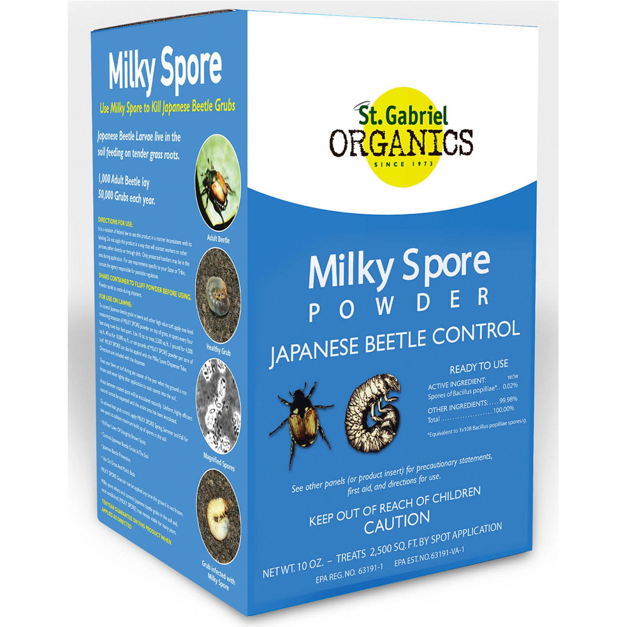 Milky Spore Powder Japanese Beetle Control 10 oz   Eartheasy.com