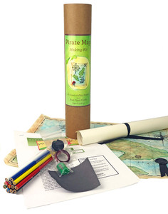 Pirate Map Making Kit