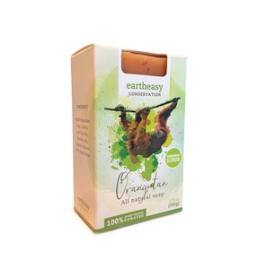 Eartheasy Orangutan Bar - Tangermint Scrub Soap