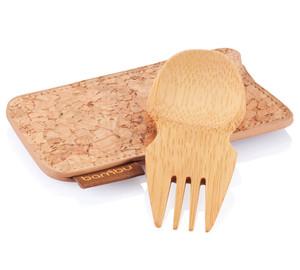 Bamboo Spork & Cork