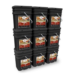 Emergency Food Supply - 1080 Servings (Breakfast and Entree)